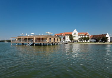 Bathhouse Kaiserstrand - view from boat