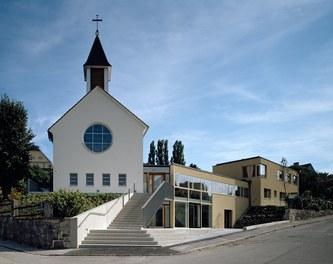 Parish Church Melk - general view