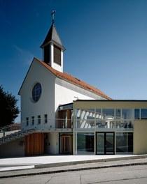 Parish Church Melk - west facade