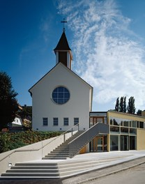 Parish Church Melk - approach
