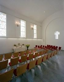 Parish Church Melk - main aisle