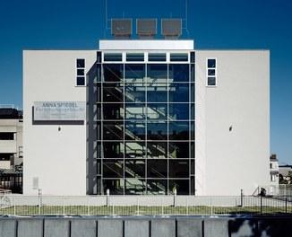 Anna Spiegel Forschungszentrum + CEMM - view from west