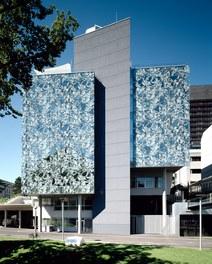Anna Spiegel Forschungszentrum + CEMM - east facade