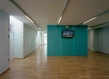 Anna Spiegel Forschungszentrum + CEMM - foyer