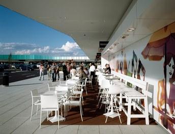 Marchfeldcenter - terrace cafe