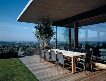 Residence F - terrace