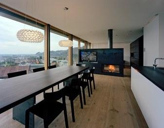 Residence F - living-dining room