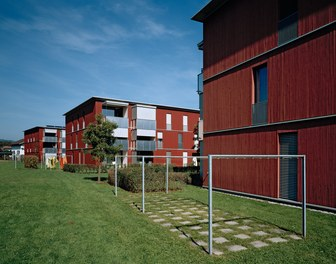 Housing Estate Untere Aue - view from southwest