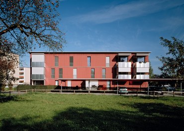 Housing Estate Untere Aue - south facade