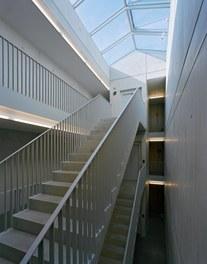 Housing Estate Untere Aue - staircase