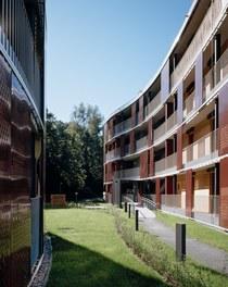 Housing Complex Sandgrubenweg Part2 - courtyard