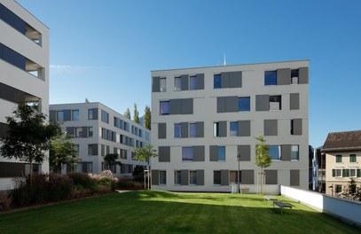Housing Complex Ulmerareal - courtyard