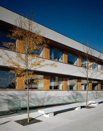 LKH Wolfsberg - Lympf Clinic - detail of facade