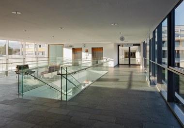 LKH Wolfsberg - Lympf Clinic - hallway