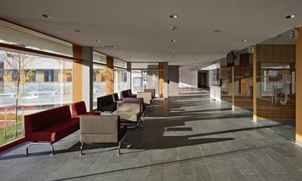 LKH Wolfsberg - Lympf Clinic - waiting area