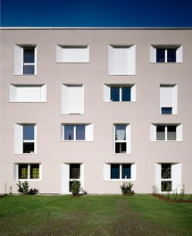 Housing Complex Lauterachbach - detail of facade
