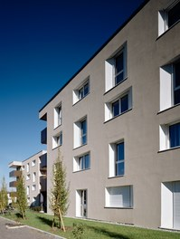 Housing Complex Lauterachbach - south facade