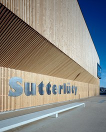 Sutterlüty Hohenems - detail of facade