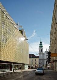 Shoppingcenter Gerngross - west facade