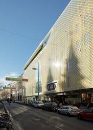 Shoppingcenter Gerngross - facade Mariahiferstrasse