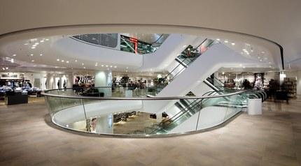 Shoppingcenter Gerngross - shops