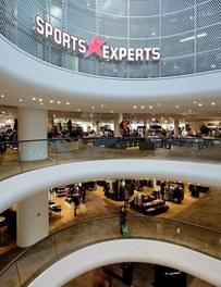 Shoppingcenter Gerngross - view into floors