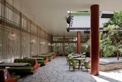 Volksgarten Disco | conversion - winter garden with open roof