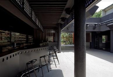 Volksgarten Disco | conversion - bar and dancefloor with open roof