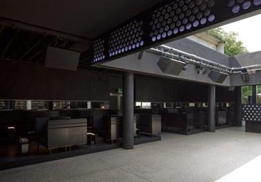 Volksgarten Disco | conversion - dancefloor and seats
