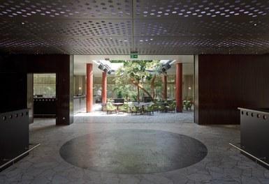 Volksgarten Disco | conversion - view to winter garden