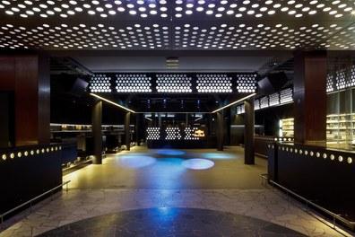Volksgarten Disco | conversion - view to dancefloor
