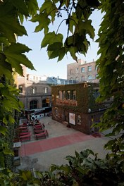 WUK Information Center - courtyard