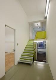 WUK Information Center - corridor