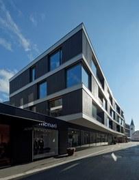 Housing and Business Location Am Garnmarkt - view from northwest