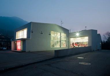 Fire Department Ybbsitz - night shot