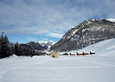Valüna Lopp - Cabin for Cross-Country Skiers - general view