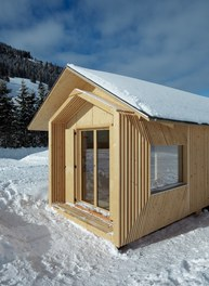 Valüna Lopp - Cabin for Cross-Country Skiers - view from southeast