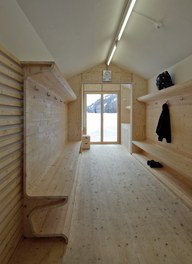 Valüna Lopp - Cabin for Cross-Country Skiers - internal space