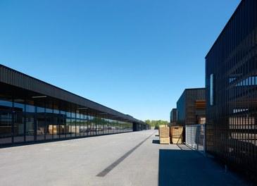 Agricultural Building Zentralfriedhof - lumberyard