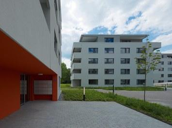 Housing Estate Widum West - entrance