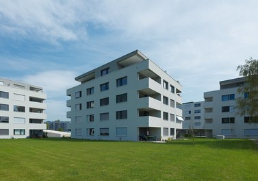 Housing Estate Widum West - view from southwest