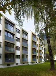 Housing Estate am Kreuz - east facade