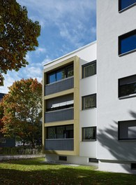 Housing Estate am Kreuz - detail of facade
