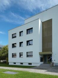 Housing Estate am Kreuz - entrance