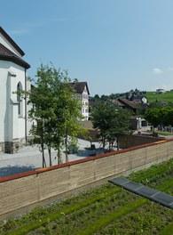 Cemetery Eschen - general view