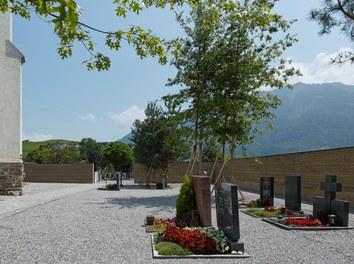 Cemetery Eschen - view from west