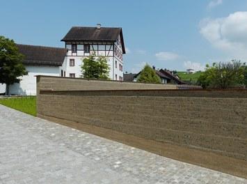 Cemetery Eschen - view from southwest