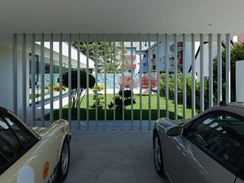 Residence L - view from carport