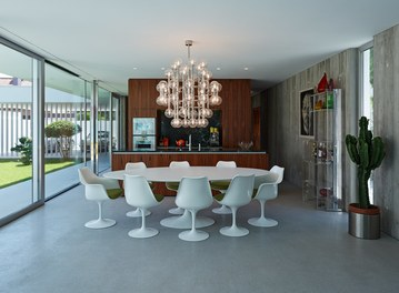 Residence L - living-dining room