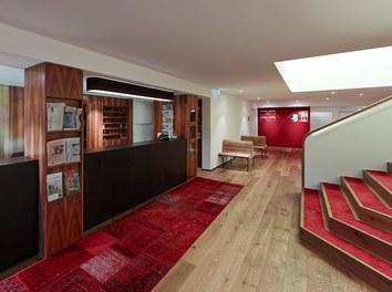 Hotel Schwärzler | conversion - lobby